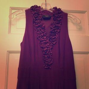 Just Taylor Purple Sleeveless Dress!